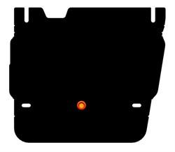 Защита раздатки Jeep Grand Cherokee 3,0 2013- - фото 4733