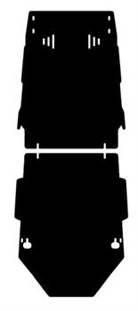 Защита КПП Kia Bongo III   2,5   2004- - фото 4738