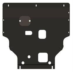 Защита картера и КПП Ford Tourneo Custom передний привод2013- - фото 5169
