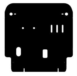 Защита картера и КПП Haima M3 2014- - фото 5237