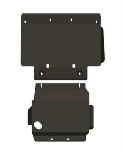 Защита радиатора Infiniti QX56/QX80 2010- - фото 5279