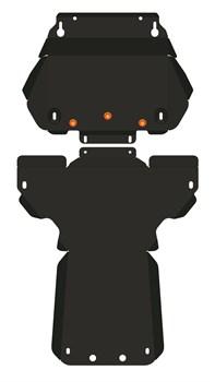 Защита картера Jaguar XJ 2009- - фото 5292