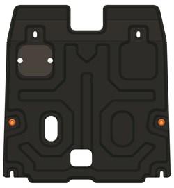Защита картера и КПП Honda Accord IX 2013- - фото 5312