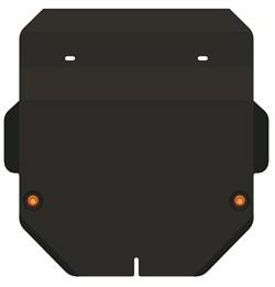 Защита картера и КПП Honda Fit 2001-2008 - фото 5354
