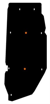 Защита Защита топливного бака Hyundai H1 / Grand Starex 2007- - фото 5427