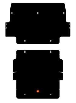 Защита РадиаторHyundai Terracan 2001-2003 - фото 5475