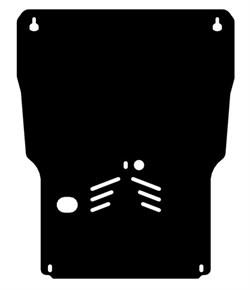 Защита картера и КПП Lexus – GS 300  на пыльник 2006-2011 - фото 5537