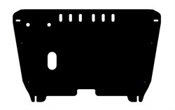 Защита картера и КПП Toyota Camry  XV40 3,5  2006-2011 - фото 5549