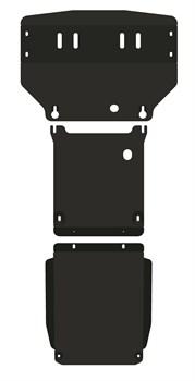 Защита радиатора MB  W163  ML 320  3,2  1997-2005 - фото 5667