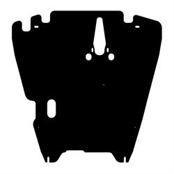Защита картера и КПП Mitsubishi Lancer IX 2000-2007 - фото 5759