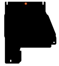 Защита раздатки  Nissan Navara  D40   2005-2015 - фото 5898