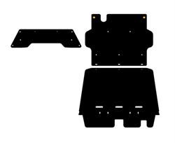 Защита  РК  Nissan Patrol 5 dv     Y61  3,0 TD  2000 - 2005 -2010 - фото 5904