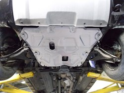 Защита картера и КПП Nissan Terrano  1,6; 2,0  2014- - фото 5979