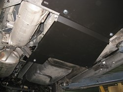 Защита картера и КПП  Nissan Pathfinder R50     (2 части)  3,3  1995-2005 - фото 5995