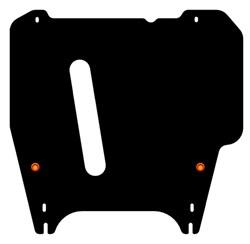 Защита картера и АКПП Nissan Cube   Z11    2WD 1,4   2002-2008 - фото 6013