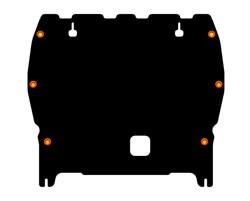 Защита картера и КПП Nissan  Juke NISMO  1,6   2013- - фото 6015