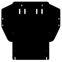 Защита картера и КПП Seat Toledo  1,4; 1,6  1991-1999 - фото 6166