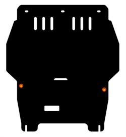 Защита картера и КПП Seat Toledo  1999-2006 - фото 6167
