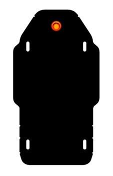 Защита редуктора заднего моста Subaru  Forester IV   2,0    2012- - фото 6387