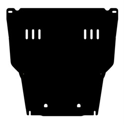 Защита картера и КПП Toyota bB 1,5 2000-2005 - фото 6482