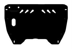 Защита картера и КПП Toyota Camry    XV40 2,4  2006-2011 - фото 6484