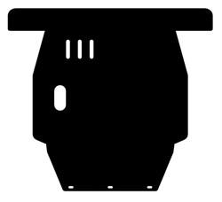 Защита картера и КПП  Toyota Carina  T190   1,6-2,0  1992 -1996 - фото 6494