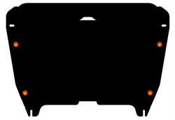 Защита картера и КПП Toyota  Highlander 2010-2014- - фото 6525