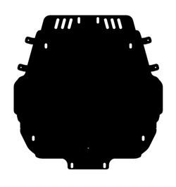 Защита радиатора Toyota Land Cruiser 200  2008-2015 - фото 6534