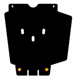 Защита КПП Toyota Fortuner   2,7