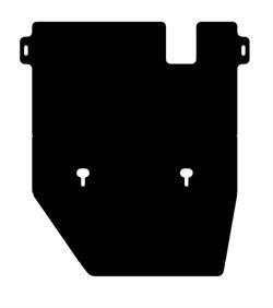 Защита картера и КПП  Toyota LC 80  4,0; 4,2; 4,4TD; 4,6   1990-1997 - фото 6632