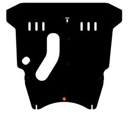Защита картера и КПП  Toyota Rav-4 II  1,8; 2,0  2000-2004 - фото 6662