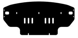 Защита картера Volkswagen Crafter  2011- - фото 6705