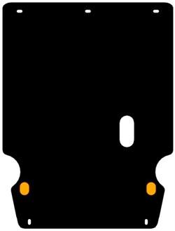 Защита картера и КПП Volkswagen Passat B3,B4   1,9D   1988-1997 - фото 6730