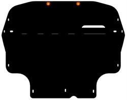 Защита картера и КПП  Volkswagen Passat B6   2005-2011 - фото 6734