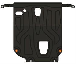 Защита картера и КПП Hyundai Solaris 2017- (установка под пыльник) - фото 7955
