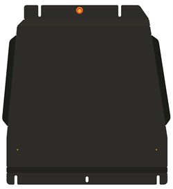 Защита КПП Kia Mohave рестайлинг 3.0 2020- - фото 8092