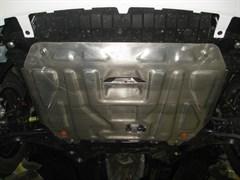 Защита картера и КПП Hyundai Solaris 2011-