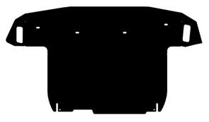 Защита картера и КПП Hyundai Tucson большой 2004-2009