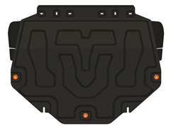 Защита картера и КПП Mazda CX-5 2012-