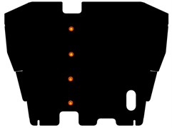 Защита картера и КПП Mitsubishi  Space Wagon   1991 - 1998