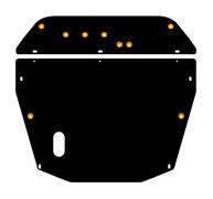 Защита картера и КПП Mitsubishi  Space Wagon    1-ая часть 2,0; 2,4  1998 - 2003