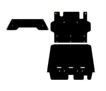 Защита  КПП  Nissan Patrol 5 dv     Y61  3,0 TD  2000 - 2005 -2010