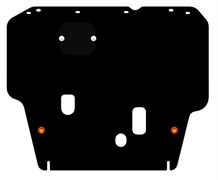 Защита картера и КПП Nissan Tiida С11   2004-2012