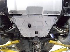 Защита картера и КПП Nissan Terrano  1,6; 2,0  2014-
