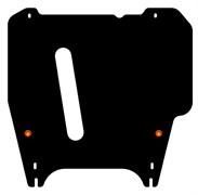 Защита картера и АКПП Nissan Cube   Z11    2WD 1,4   2002-2008