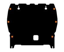Защита картера и КПП Nissan  Juke NISMO  1,6   2013-