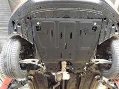 Защита картера и КПП  Nissan Pathfinder  R52  3,5  -2012