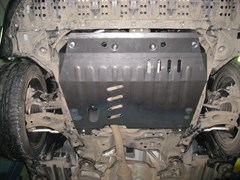 Защита картера и КПП Suzuki Kizashi  2WD  2,4  2010-2014