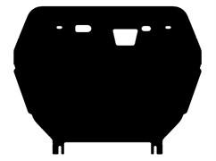 Защита картера и КПП Toyota Alphard  3,5 2008-2015