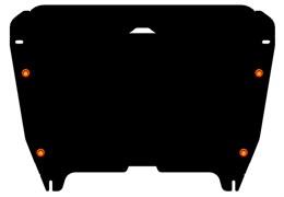 Защита картера и КПП Toyota  Highlander 2010-2014-